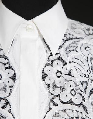 Camicia in popeline stretch - Camicie maniche lunghe - Dolce&Gabbana - Estate 2016