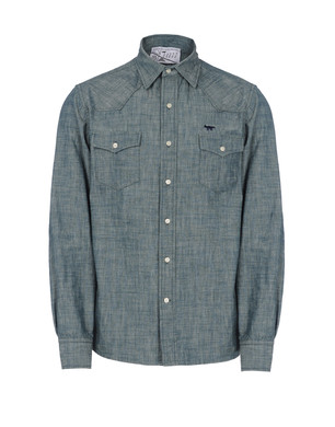 Denim shirt Men's - KITSUNÉ