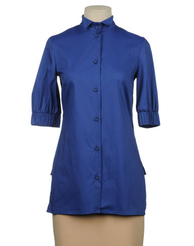 MAURO GASPERI - Shirt with 3/4-length sleeves