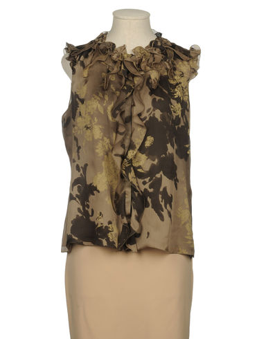 ELIE TAHARI - Sleeveless shirt