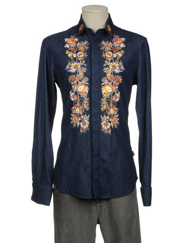 JUST CAVALLI - Denim shirt