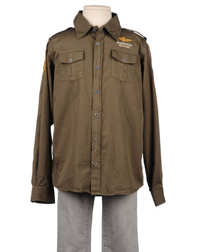 AERONAUTICA MILITARE - Long sleeve shirt
