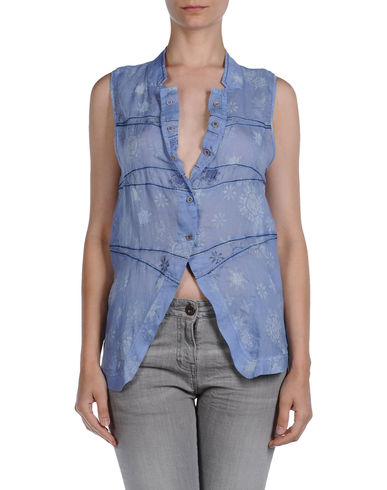 LJD MARITHE' FRANCOIS GIRBAUD - Sleeveless shirt