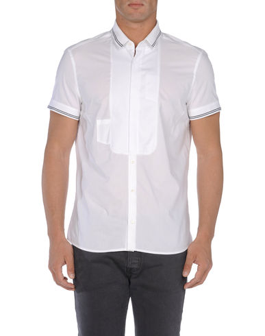NEIL BARRETT - Short sleeve shirt