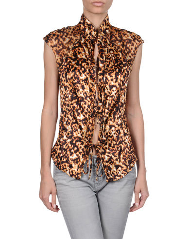 ROBERTO CAVALLI - Sleeveless shirt