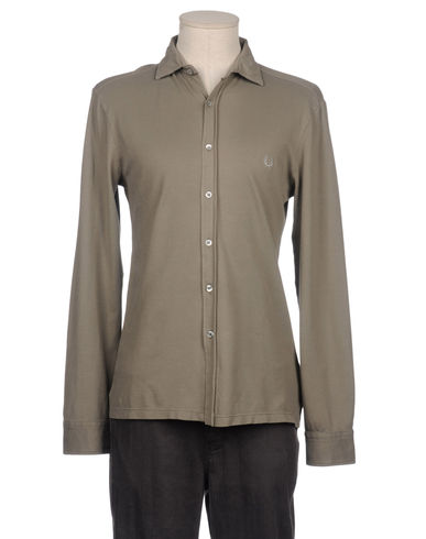 FRED PERRY - Long sleeve shirt
