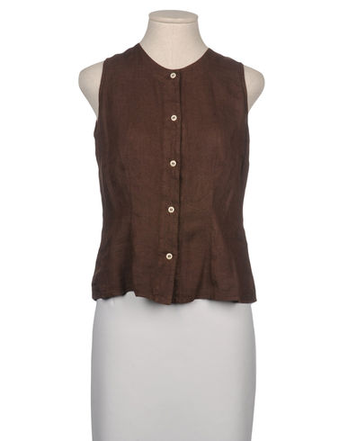 120% LINO - Sleeveless shirt
