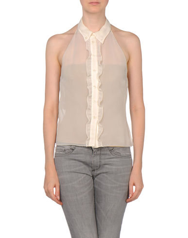 MIU MIU - Sleeveless shirt