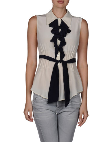 MOSCHINO - Sleeveless shirt