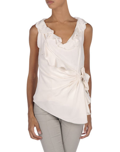 OSCAR DE LA RENTA - Sleeveless shirt