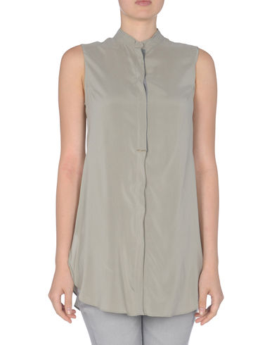 BRUNELLO CUCINELLI - Sleeveless shirt