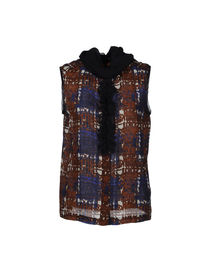 TORY BURCH - Sleeveless shirt