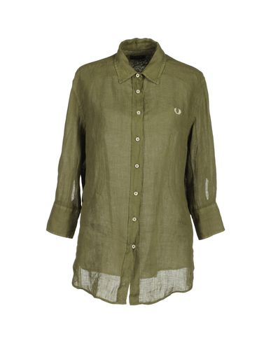FRED PERRY - Shirt with 3/4-length sleeves