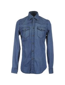 CARLO CHIONNA - Denim shirt