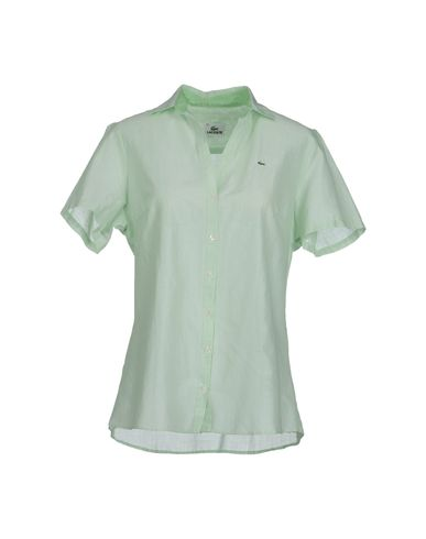 LACOSTE - Camicia maniche corte