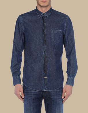 TJ TRUSSARDI JEANS - Camicia jeans