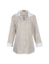 BURBERRY - Shirt with 3/4-length sleeves