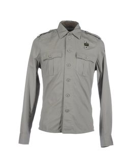 BLAUER Long sleeve shirts - Item
