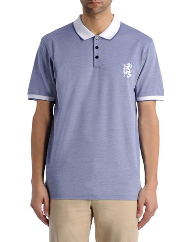 Contrast Lion Polo Shirt