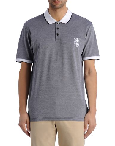Contrast Lion Polo Shirt