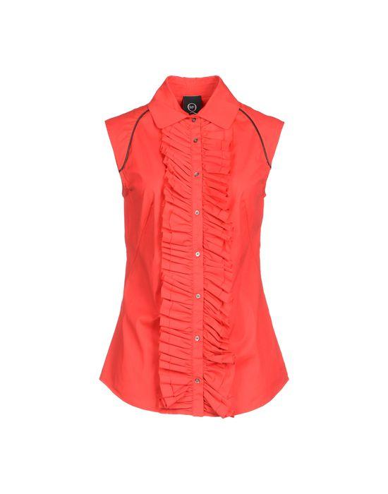 цена  MCQ ALEXANDER MCQUEEN Рубашка без рукавов  онлайн в 2017 году