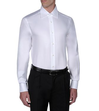 ERMENEGILDO ZEGNA: Formal Shirt  - 38316025XP