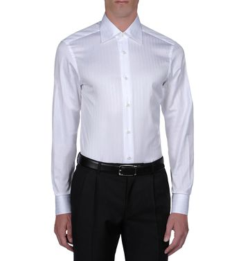 ERMENEGILDO ZEGNA: Formal Shirt  - 38316028LV