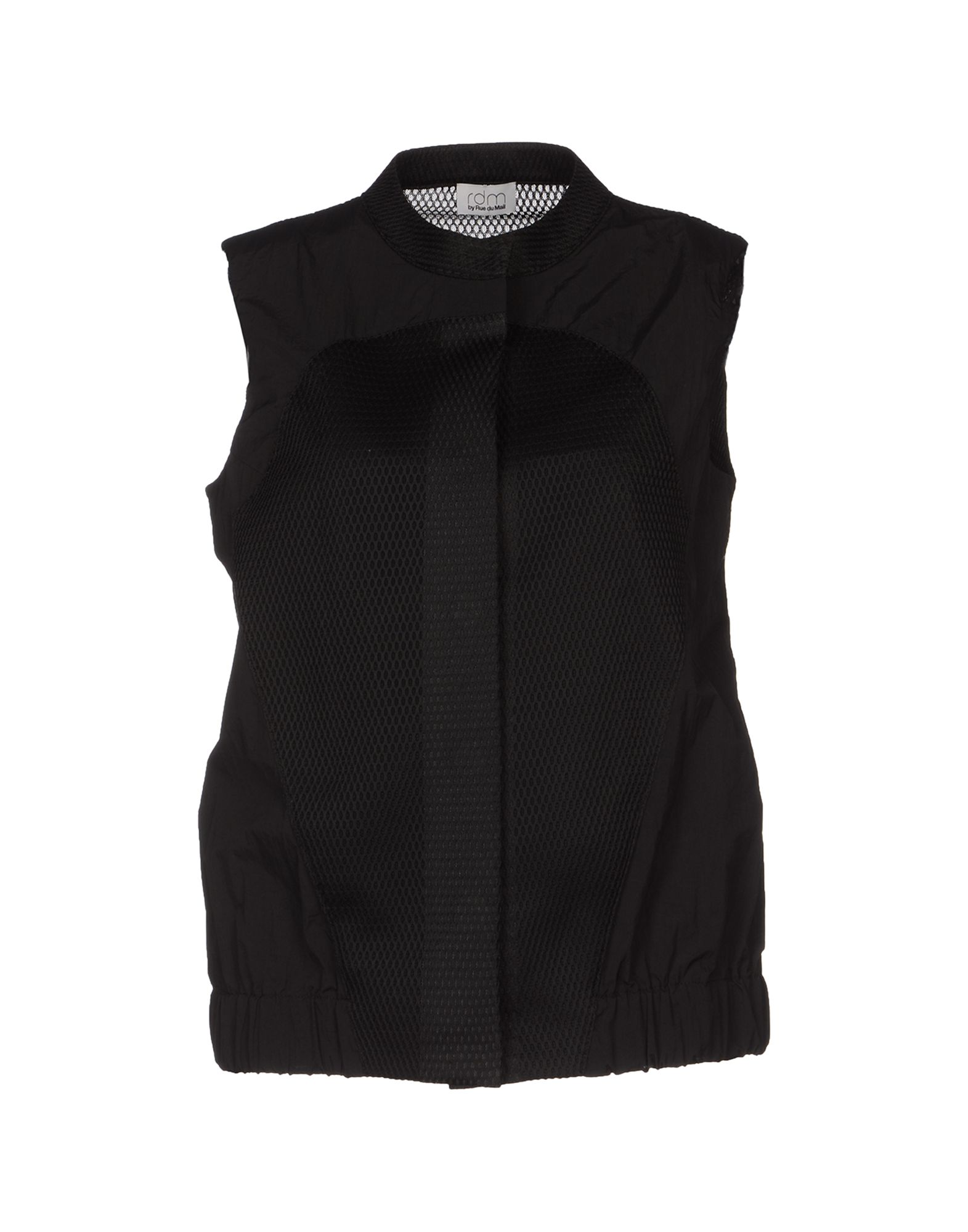 RUE DU MAIL Damen Ärmelloses Hemd Farbe Schwarz Größe 5