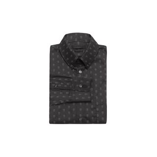 ALEXANDER MCQUEEN, Classic Shirt, Hidden Skull Polka-Dot Shirt