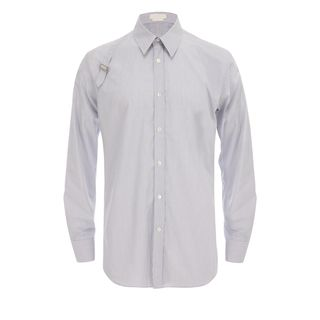 ALEXANDER MCQUEEN, Classic Shirt, Fine Diamond-Stripe Harness Shirt