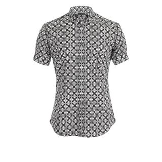 ALEXANDER MCQUEEN, Classic Shirt, Panama Tile Print Short-Sleeve Shirt