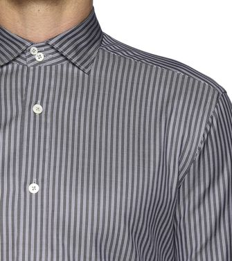 ERMENEGILDO ZEGNA: Casual Shirt Steel grey - 38323502IH