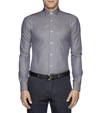 ERMENEGILDO ZEGNA: Casual Shirt Dark brown - 38323502IH