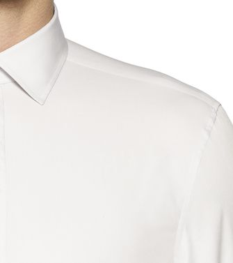 ZZEGNA: Fashion Shirt White - 38323599XN