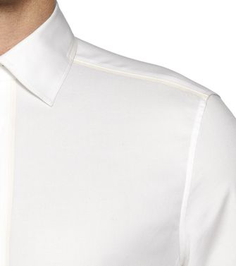ZZEGNA: Camisa fashion Blanco - 38323600CX