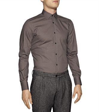 ZZEGNA: Chemise Fashion Gris - Anthracite - 38323603WT