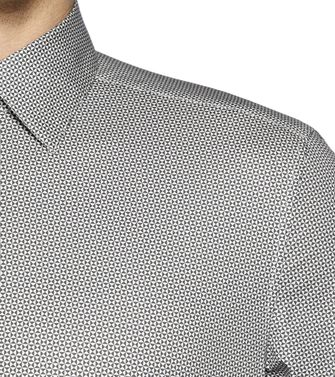 ZZEGNA: Chemise Fashion Gris - Anthracite - 38323605LC