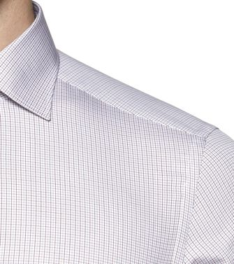 ERMENEGILDO ZEGNA: Formal Shirt Blue - 38323607FR