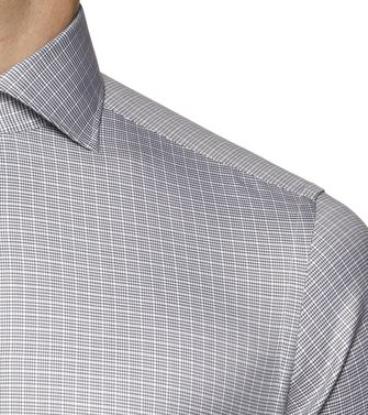 ERMENEGILDO ZEGNA: Formal Shirt Grey - 38323611KN