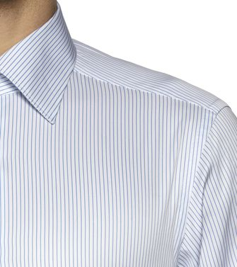 ERMENEGILDO ZEGNA: Formal Shirt Blue - 38323616BL