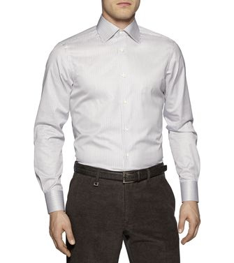 ERMENEGILDO ZEGNA: Formal Shirt Sky blue - 38323617MU
