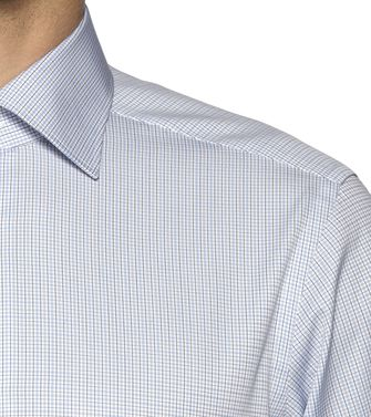 ERMENEGILDO ZEGNA: Formal Shirt Grey - 38323618PM