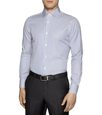 ERMENEGILDO ZEGNA: Casual Shirt Brick red - 38323641CB