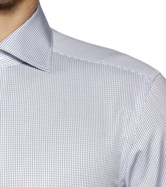 ERMENEGILDO ZEGNA: Formal Shirt Grey - 38323644OD
