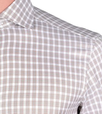 ERMENEGILDO ZEGNA: Formal Shirt White - 38323646ST