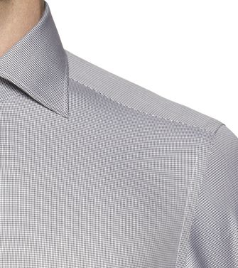 ERMENEGILDO ZEGNA: Formal Shirt Sky blue - 38323647GB