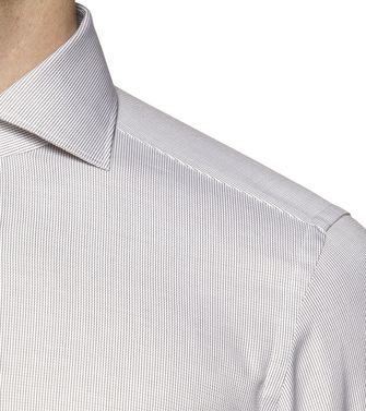 ERMENEGILDO ZEGNA: Formal Shirt Blue - 38323650SP