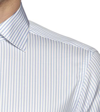 ERMENEGILDO ZEGNA: Camisa formal Blanco - 38323652MG