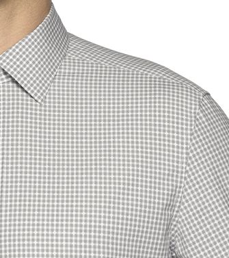ZZEGNA: Fashion Shirt Light grey - 38323655SR