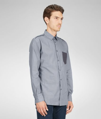 BOTTEGA VENETA - Light Cotton Jersey Shirt